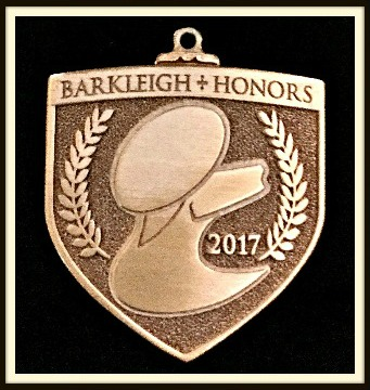 Winner of the 2017 Barkleigh Honors Award for Website of the Year